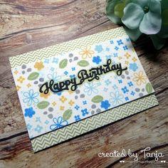 Karten-Kunst » Blümchen zum Geburtstag