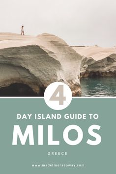 A Guide to Milos, Greece - Madeline Rae Away Greece Itinerary, Greece Travel, Greece Trip, Greece Vacation, Spain Travel, Places To Travel, Places To Visit, Travel Destinations, Moon Beach