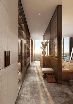 Modern Luxury Bedroom, Luxury Bedroom Design, Bedroom Closet Design, Home Room Design, Master Bedroom Design, Dream Home Design, Luxurious Bedrooms, Modern House Design, Luxury Interior