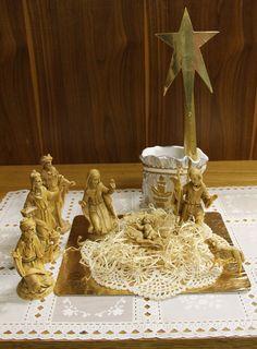 Crèche de Noël à la maison mère. Nativity scene in the mother house.