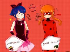 but they still have no idea it's Marinette and Meimi