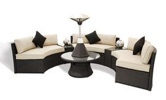 Exteriorstyles.com - Maze Rattan Furniture available in Sweden & the UK.