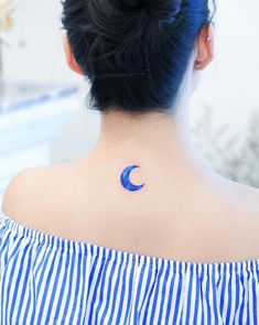 60 Tiny Tattoos That Demand Your Attention - Straight Blasted Delicate Tattoo, Subtle Tattoos, Unique Tattoos, Cool Tattoos, Tatoos, Classy Tattoos, Moon Tattoo Designs, Small Tattoo Designs, Tattoo Designs For Women