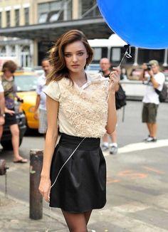 Miranda Kerr Model Photoshoot In New York City June
