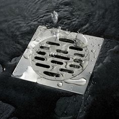 Type: Drains Brand Name: my WANFAN Material: Stainless Steel Style: Square Size: 4 inch Function: Common Floor Drain Floor Drain Method: Deodorization Type Commodity Type: Odor Removal/Dehumidifying A Bathroom Drain, Shower Drain, Bathroom Fixtures, Basement Flooring, Bathroom Flooring, Kitchen Flooring, Linear Drain, Drain Cover, Floor Drains
