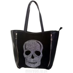 Zip Front Skull Bucket Bag ($28) ❤ liked on Polyvore featuring bags, handbags, shoulder bags, bolsas, purses, accessories, sacs, man bag, skull purse and handbags purses