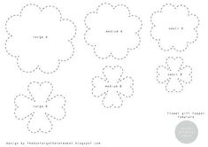 Image result for Easy Paper Flower Templates Large Paper Flower Template, Flower Petal Template, Paper Flower Patterns, Paper Flower Tutorial, Tin Can Flowers, Easy Paper Flowers, Paper Roses, Flower Paper, Decoration