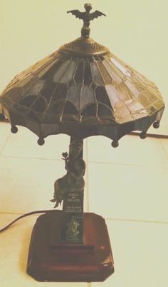 limited edition haunted mansion lamp