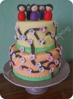 Kokeshis Cake