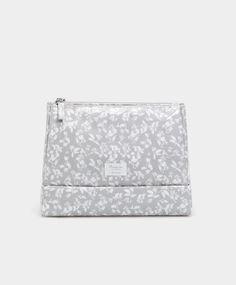 Basic leaf print toiletry bag - Cosmetic Bags - ACCESSORIES | Oysho