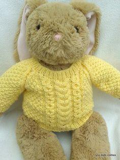 Build A Bear Sweater Pattern