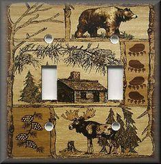 Moose and bear decor!