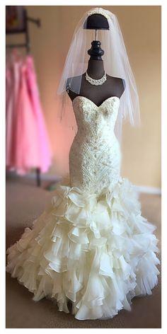 Allure Bridal, Here Comes The Bride, Bridal Boutique, Mermaid Wedding, Wedding Gowns, Wedding Ideas, Fashion, Wedding Frocks, Moda