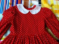 Girls Hearts Dress 5/6 by lishyloo on Etsy