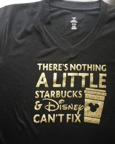 Added a V-neck version of the Disney and Starbucks tee to the shop after so many…