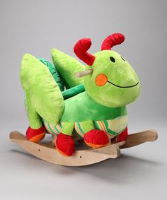As if a big, lovable grasshopper friend wasn't enough fun, here's one to ride on. Buttons on the back of Gregory's head play original songs that cover the ABC's, 123's and more, making this rocker the perfect all-in-one playmate. Note: Due to limited inventory, each customer may only purchase one item per household.