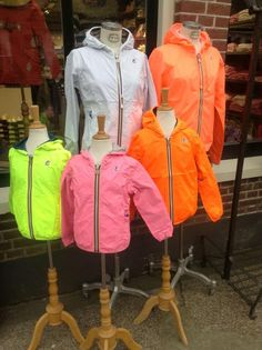 For the whole family: K-Way, technical jackets in happy colours!