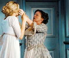 """""""I think Mrs. Bennet, especially as played by Brenda Blethyn is played very seriously. """" (Joe Wright, Director)"""