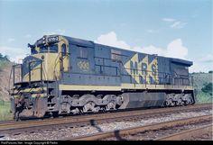 Locomotiva  GE C-38 da MRV Lojistica (Brasil)  2008