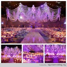 Wedding reception decor by design lab events