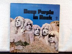 Deep Purple In Rock. Vintage vinyl LP 33 record by AbqArtistry,