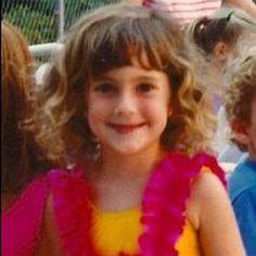 """April 9: A """"younger me"""" – rocking the hula girl swimsuit. #PhotoADayApril"""