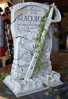 Blackbeard's Tombstone: Tutorial - Blogs - Halloween Forum