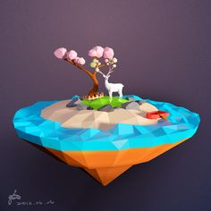 BLENDER WORK by Gin Lee