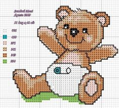 baby bear - maybe without the safety pin for a more modern version