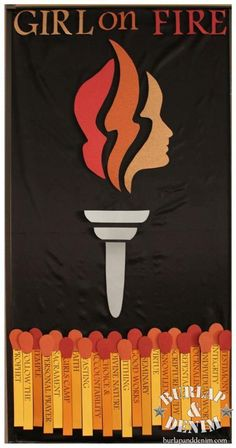 Great idea for any year...think I'll be using it! Girl On Fire {2013 YW Bulletin Board}