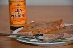Pink Julep: Cheese on Toast With Lea & Perrins Worcestershire Sauce