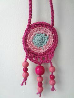 crochet tribal necklace free pattern