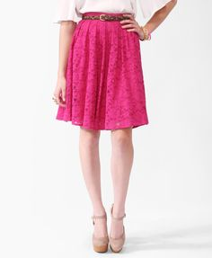 Lace Circle Skirt | FOREVER21 - 2000039186