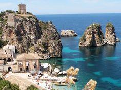 Host a wedding and reception in Scopello, Sicily