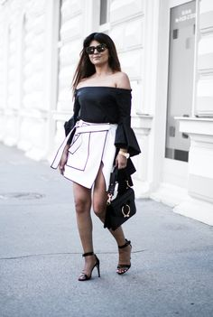 Outfit | The Keys To Wear A Wrap Skirt