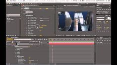 AEチュートリアル - Element3D時間差テキストアニメーション