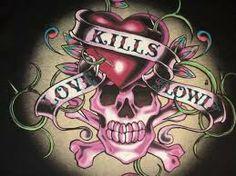 ed hardy love kills slowly wallpaper - Google Search