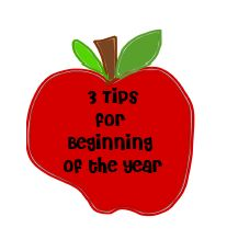 3 tips for the beginning of the year