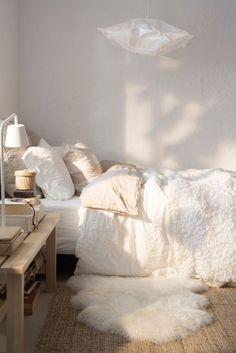 Chambre cocon blanc