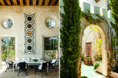 Love the cosmedin floor pattern mosaic, and that charming fountain, and that fab floor tile.