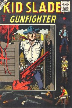 Davy Crockett's Almanack of Mystery, Adventure and The Wild West: Comic Gallery: JOHN SEVERIN Out West