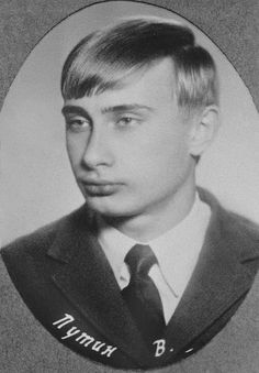 Young Vladimir Putin 1970   | < 209° SAfr https://de.pinterest.com/p5912015072086/back-in-the-day/