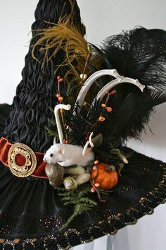 Heirloom Silk Victorian Witch Hat by Studio Sisu by StudioSisu