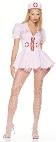 Leg Avenue 8589 Adult Women/'s 3 Piece Size M//L Classic Nurse Costume