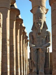 Luxor Temple  - Luxor, Egypt (Africa)