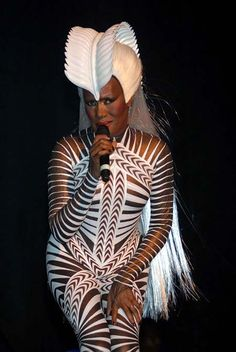 Grace Jones - Still a Style Icon!