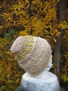 slouchy baggy beanie hand spun 100% wool natural eco dye free shipping iskapie L #iskapie #hippy
