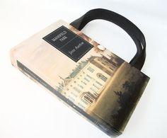 Jane Austen Book Purse Mansfield Park Book Handbag by retrograndma