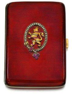 The Duchess of Windsor's cigarette case.