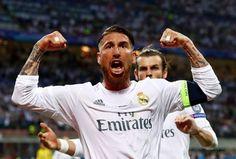 Sergio Ramos goal celebrate